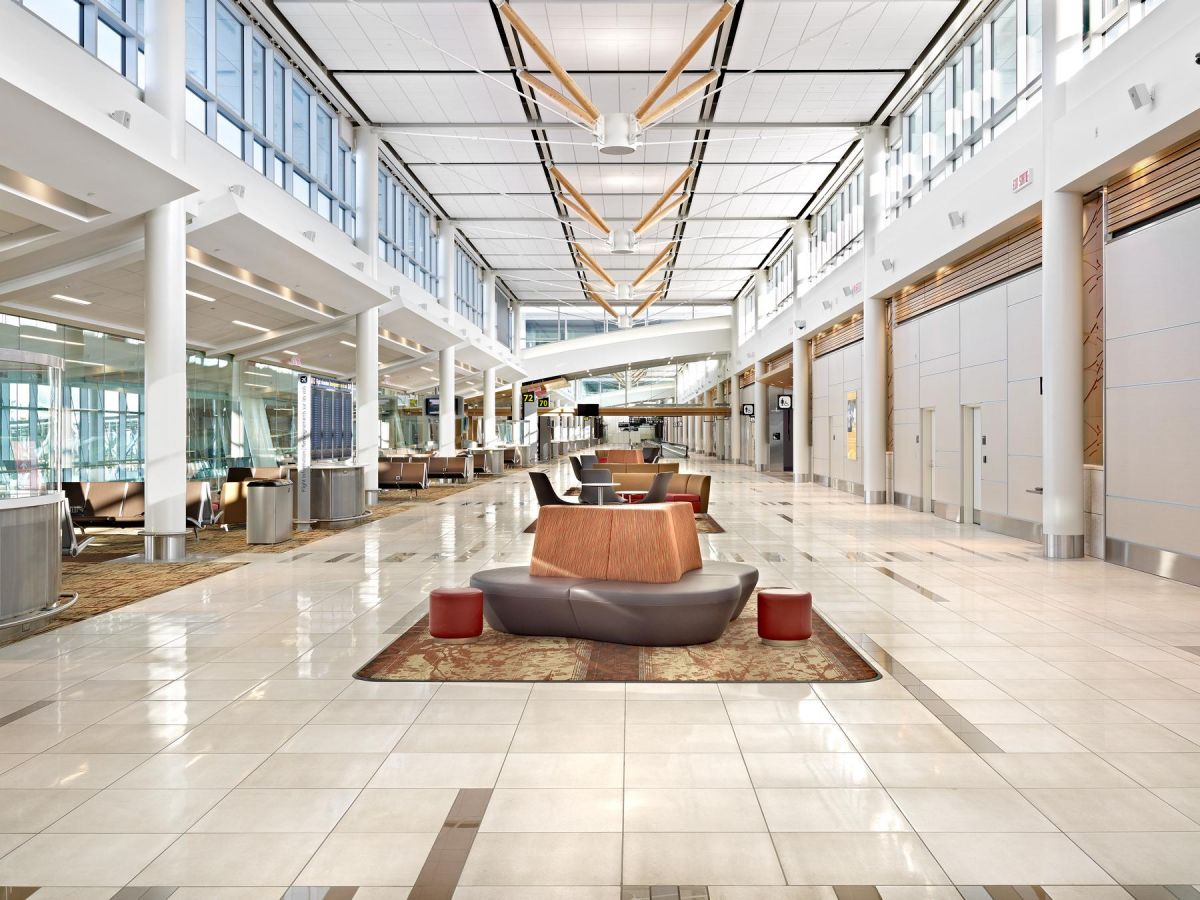 Edmonton int airport expansion cn architectural for Interior design edmonton
